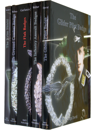 Package of five Regular Books