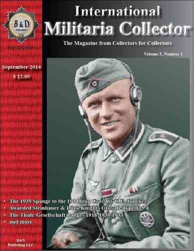 International Militaria Collector - INTERNATIONAL Subscription
