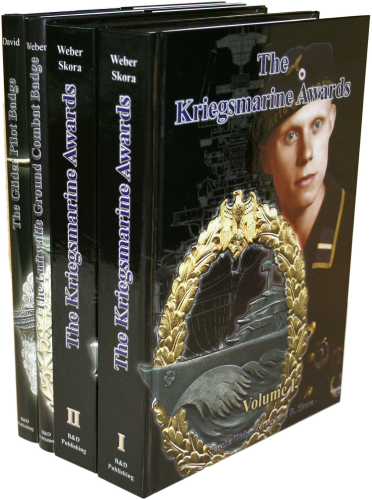 Package of three Regular Books KM & LW