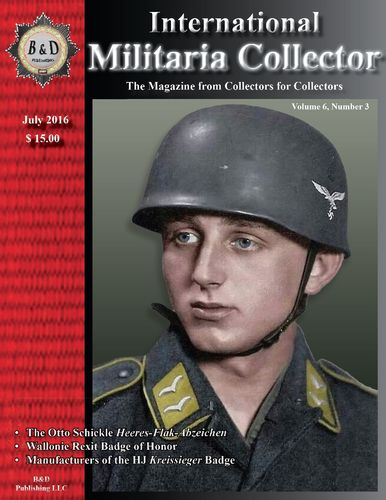 International Militaria Collector Vol. 6/3