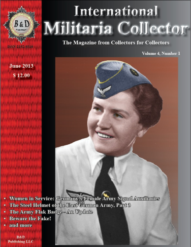International Militaria Collector Vol.4/1