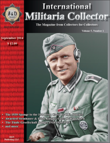 International Militaria Collector Vol. 5/1