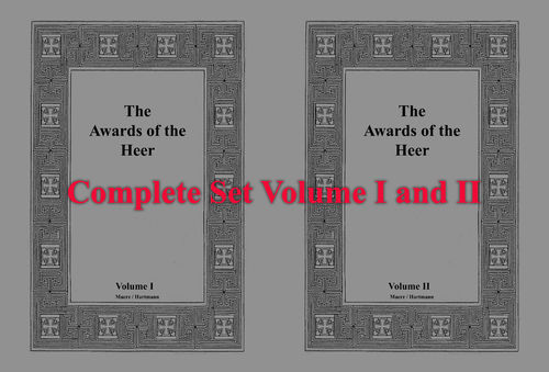 The Awards of the Heer - Vol. I + II Leather Edition