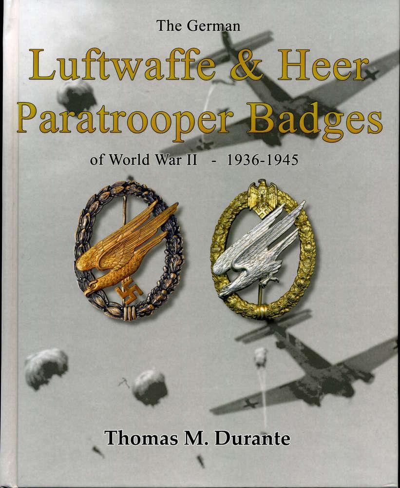 The German Luftwaffe & Heer Paratrooper Badges of WWII - B&D