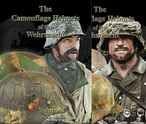 The Camouflage Helmets of the Wehrmacht, Vol. I + II